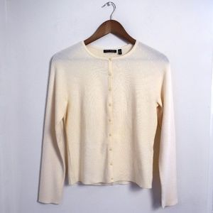Anne Klein Cardigan Sweater Small